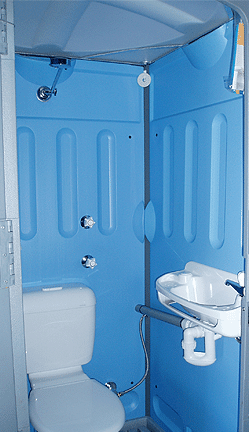 Sewer Shower Combo Merlin Portable Toilets