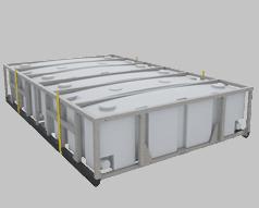 Portable Waste Storage Tank Effluent