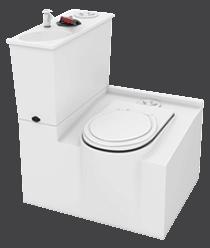 Merlin Fibreglass Toilet Internal MFT3