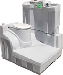 Hand Operated Portable Toilet Internal 4300 Plastic