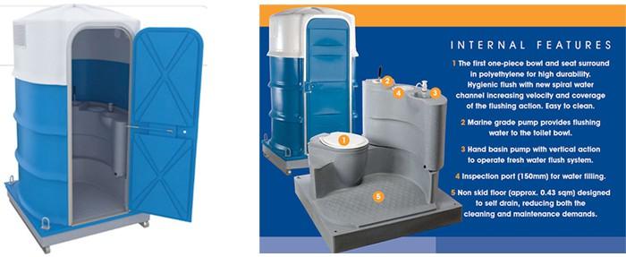 PB28 Portable Toilet Brochure
