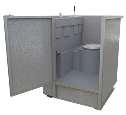 Underground Mining Toilet
