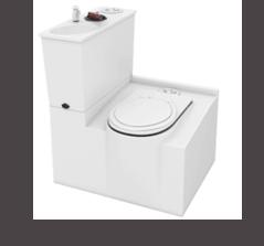 MFT3 Fibreglass Toilet Internal