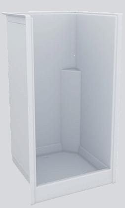 Fibreglass Shower Internal 1000 x 930 x 1820