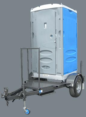 Merlin Ultra Single Trailer Mounted Portable Toilet