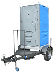 Merlin Ultra Single Trailer Mounted Portable Toilet