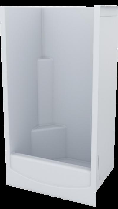Fibreglass Shower Internal 900 x 760 x 1810 with 240 HOB